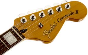 Fender Colonadoヘッド部分