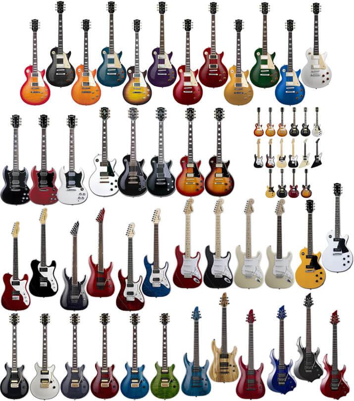 GrassRootsのギター