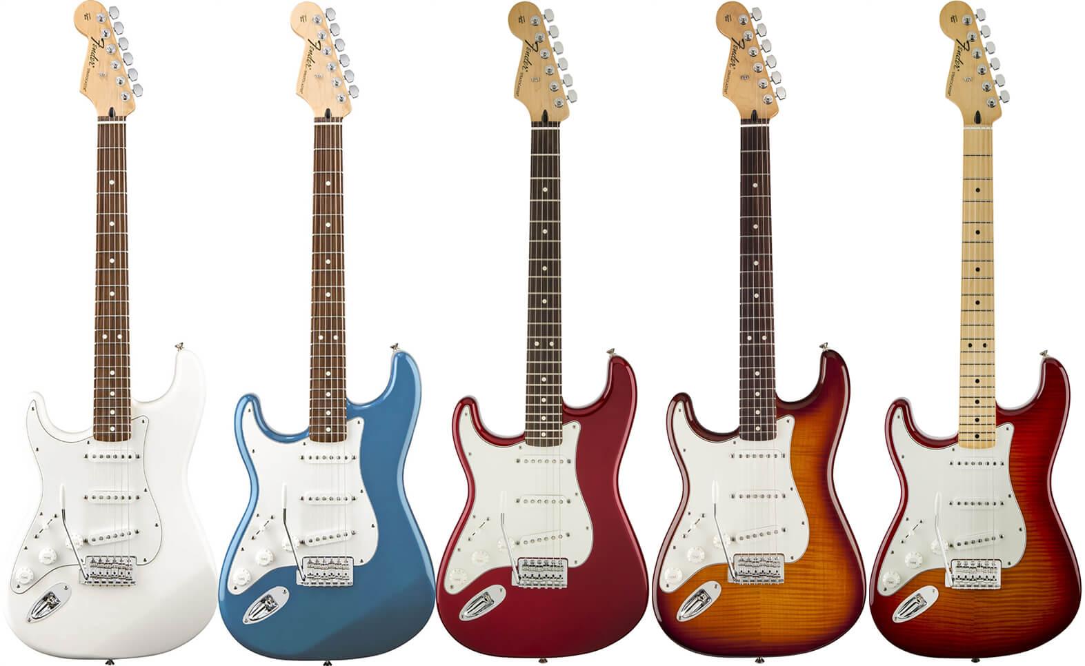 Standard Stratocaster Left-Hand