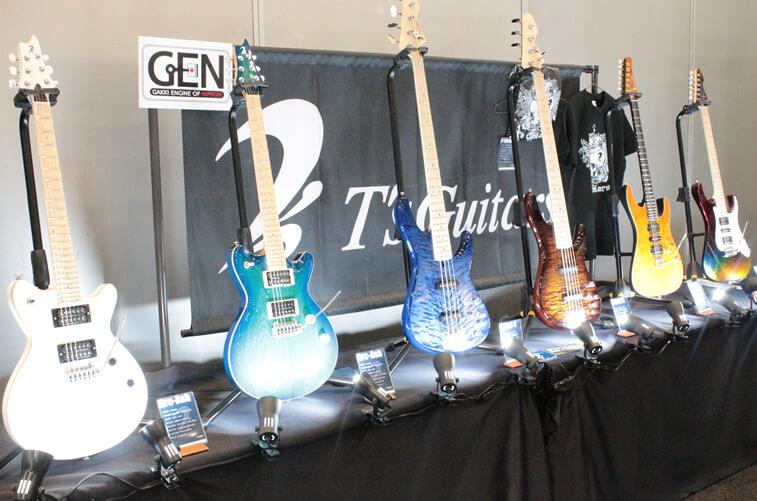 T's Guitarsブース