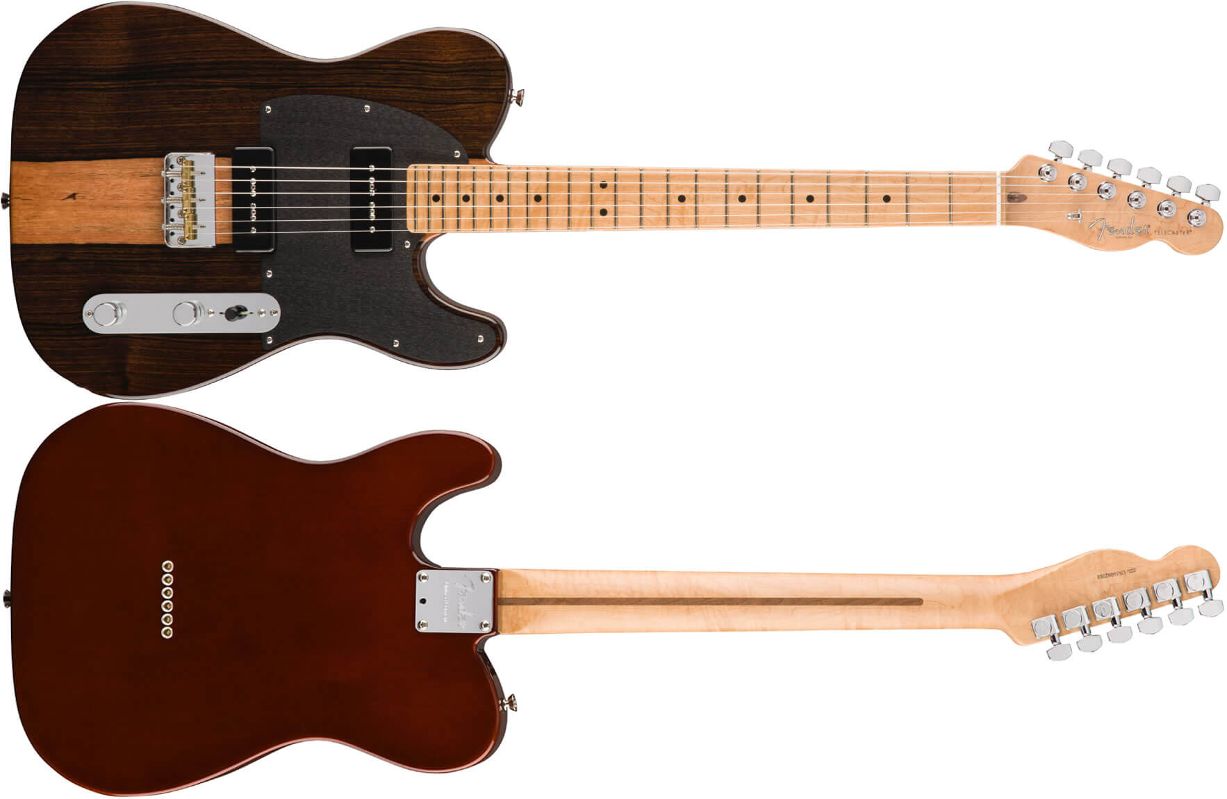 2017 LIMITED EDITION MALAYSIAN BLACKWOOD TELECASTER 90