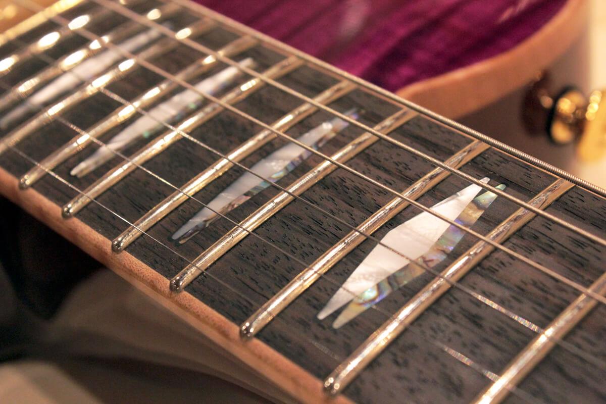 FUJIGENギターのフレット