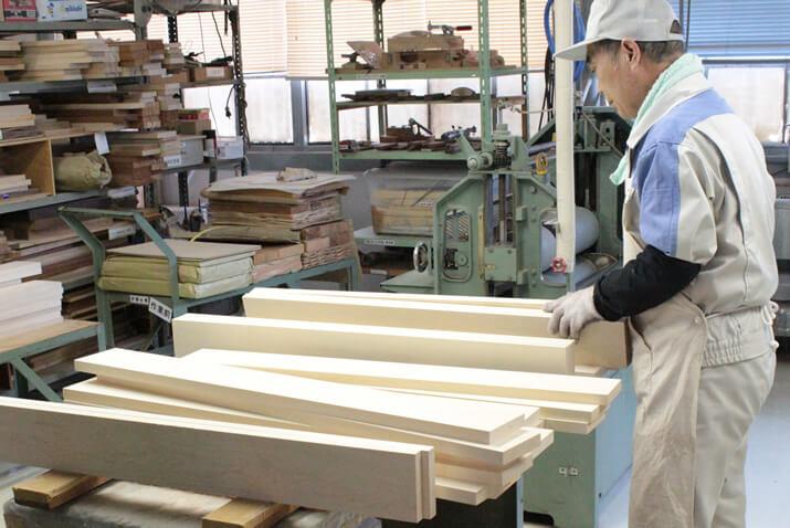 木材の組み合わせを検討