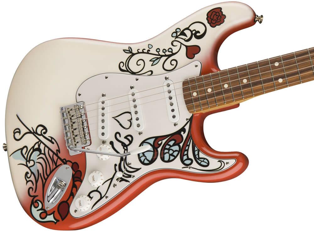 Jimi Hendrix Monterey Stratocaster:ボディ