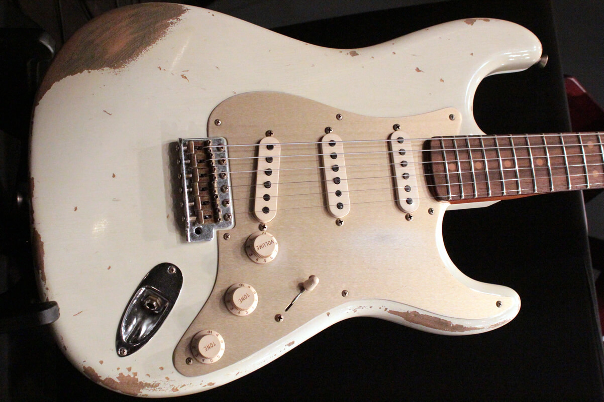 59 STRATOCASTER HEAVY RELIC(Aged Olympic White)