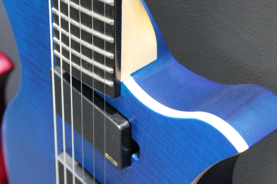 ヘッドレスギター・ネックジョイント