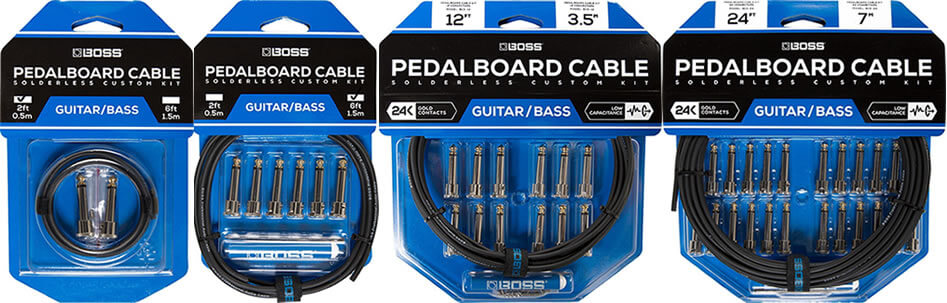 BOSS Pedalboard cable kit