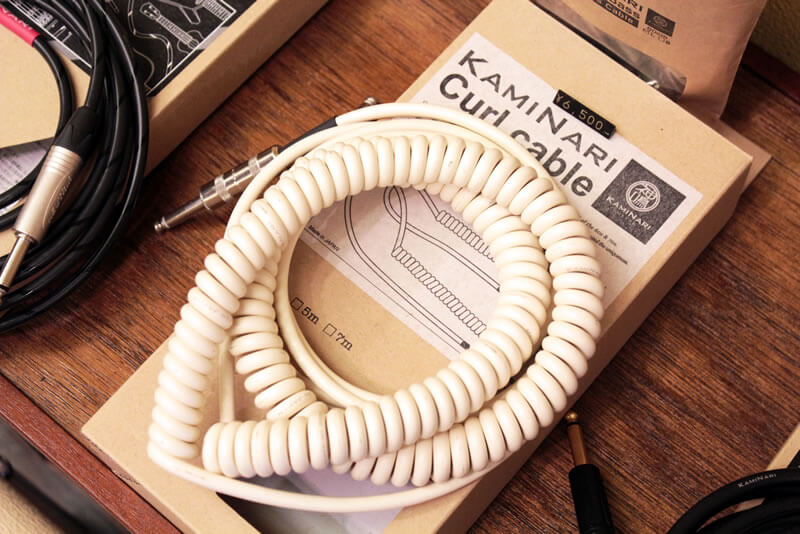 KAMINARI CABLE:オフホワイト・カラー