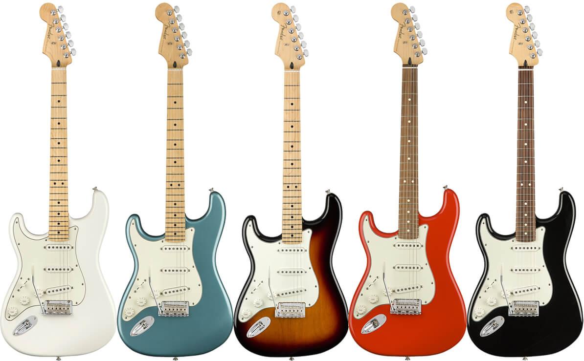 Player Stratocaster Left-Handed