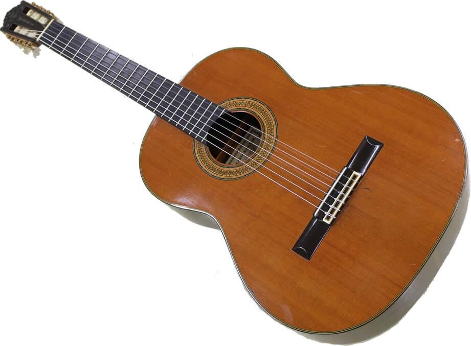 ローズウッドのクラシックギター