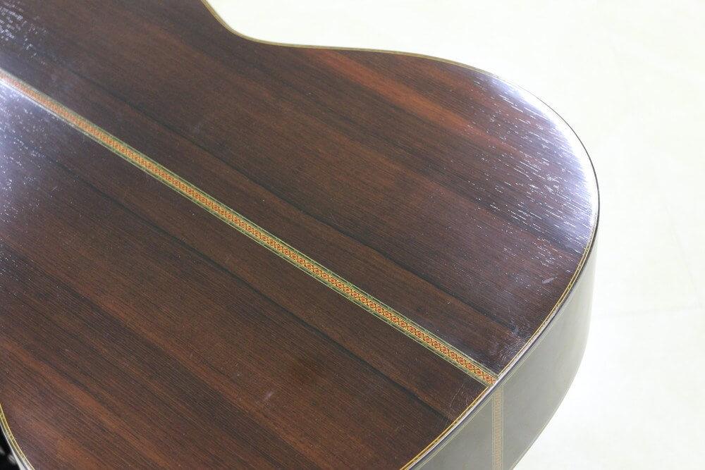 クラシックギター:バックのアップ