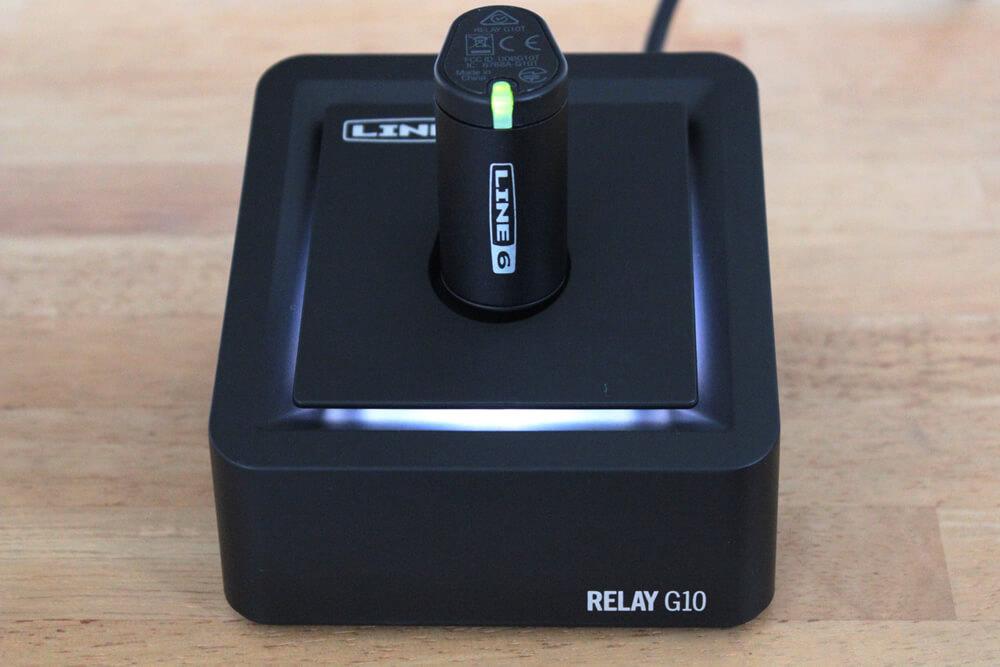 Relay G10:充電