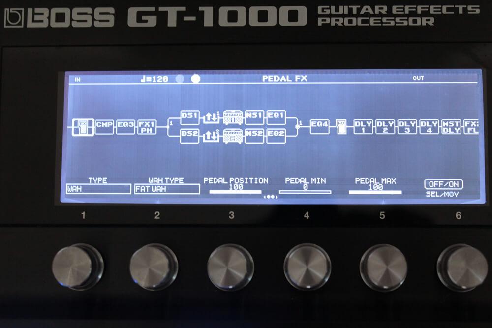 GT-1000:アンプモデル/エフェクト・ブロック