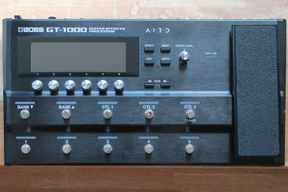 GT-1000のボディ