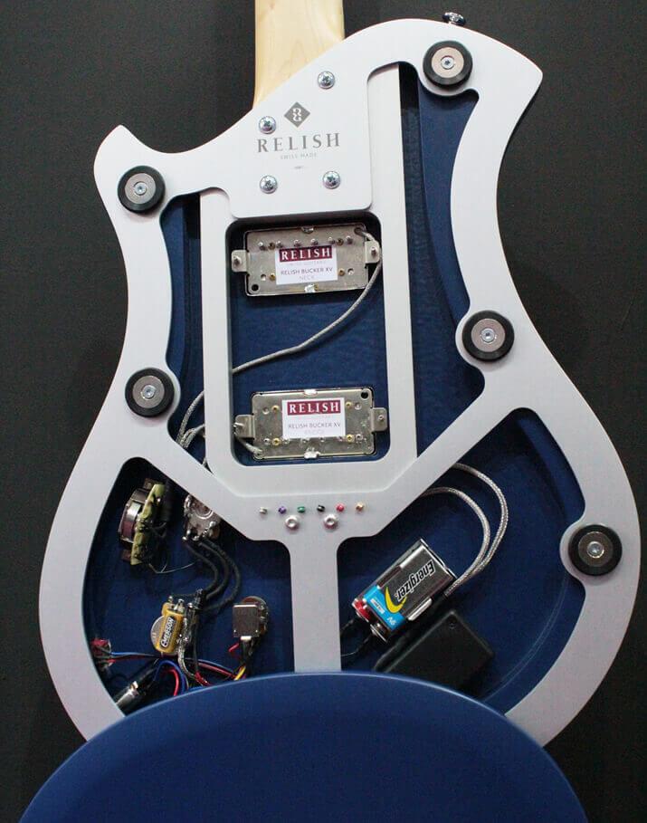 Relish Guitars:ボディ内部
