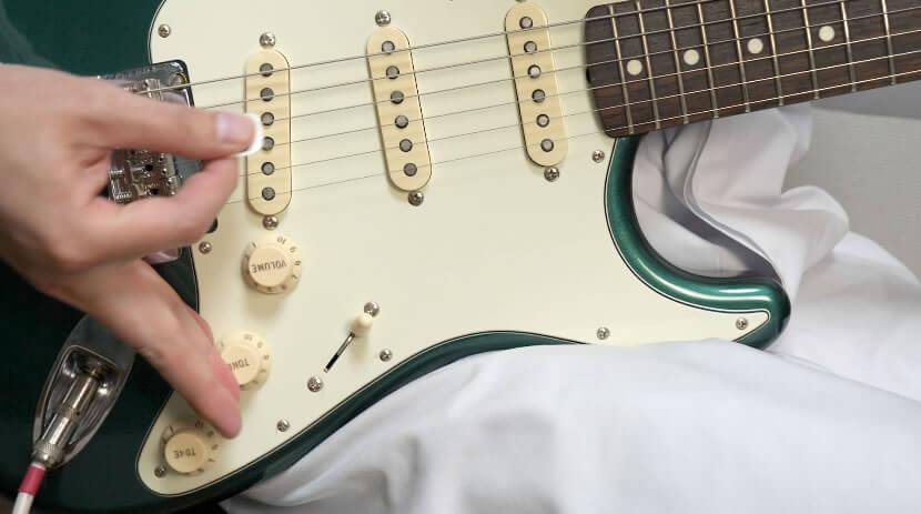 ギター側コントロールの使い方