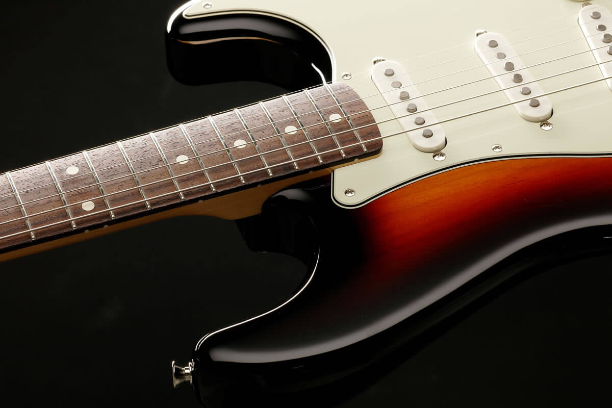 MADE IN JAPAN HERITAGE Stratocaster:指板