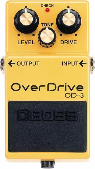 BOSS OD-3:コントロール