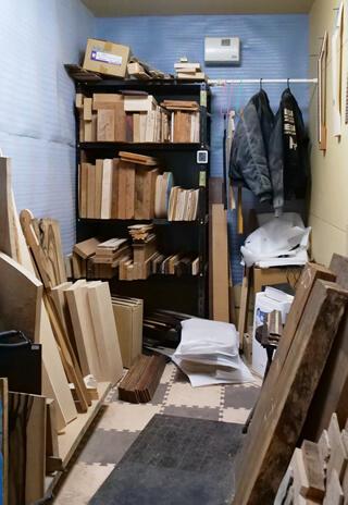 木材保管庫