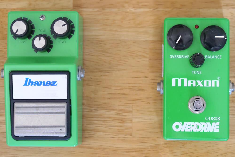 TS-808 と OD808