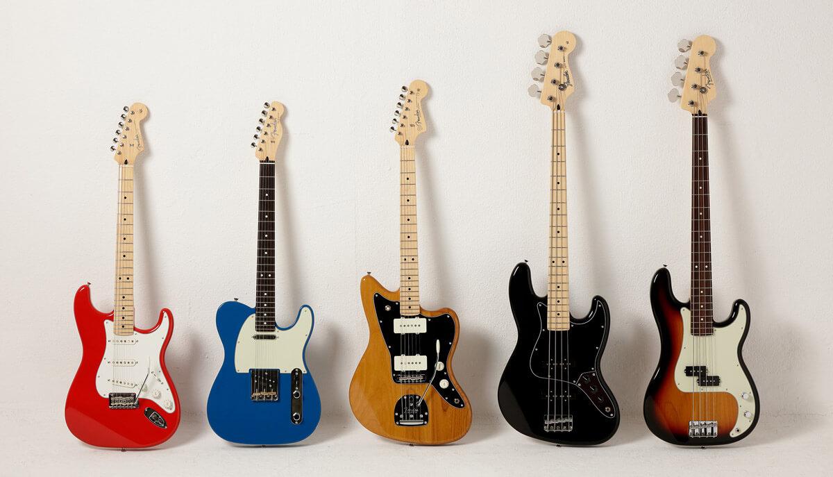 Fender Made in Japan Hybrid II シリーズ