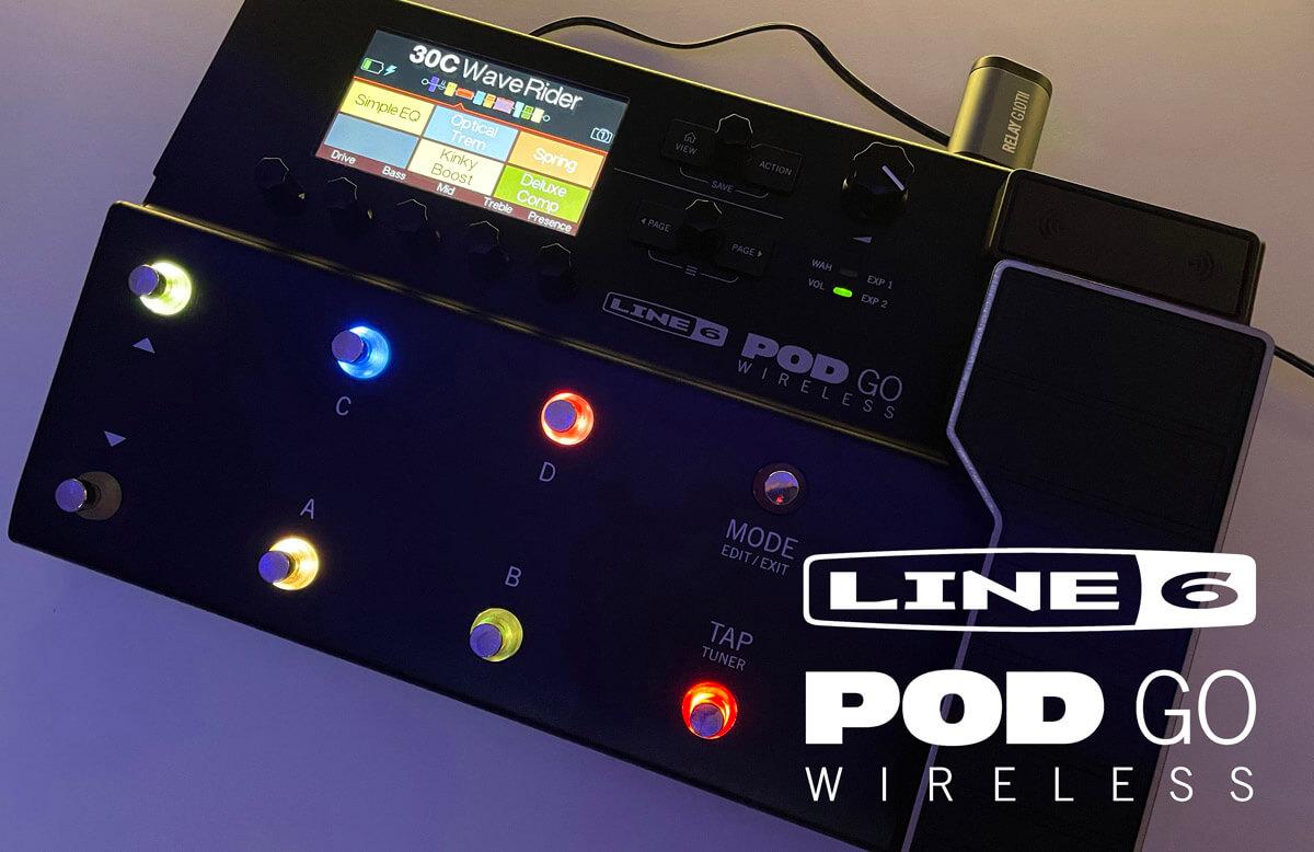 Line 6 POD Go Wireless