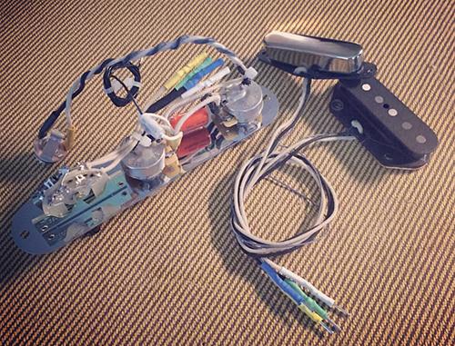 Rothstein Guitars • Prewired Tele Assemblies