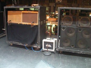 Keith Richards Stage Amps Guitar Rigscom