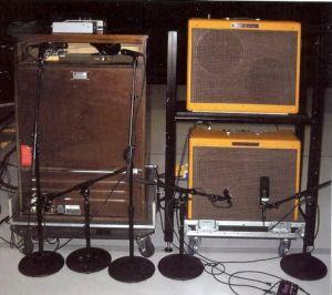 Eric Clapton guitar amp rig cream reunion