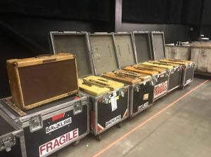 Keith Richards Guitar Amp Stage Backline