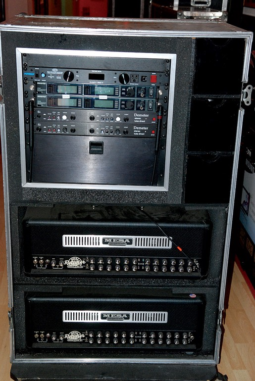 Satriani rack rig unknown date