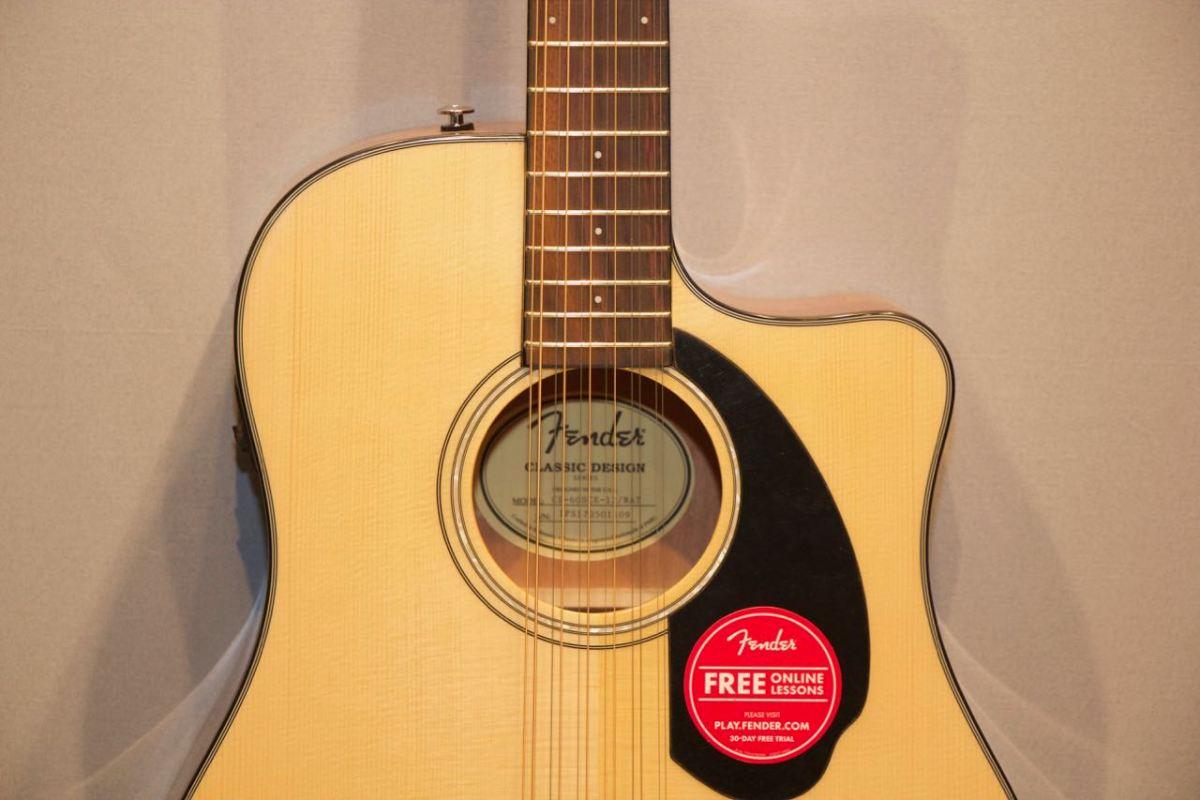 Fender-CD-60 Guitar Shop