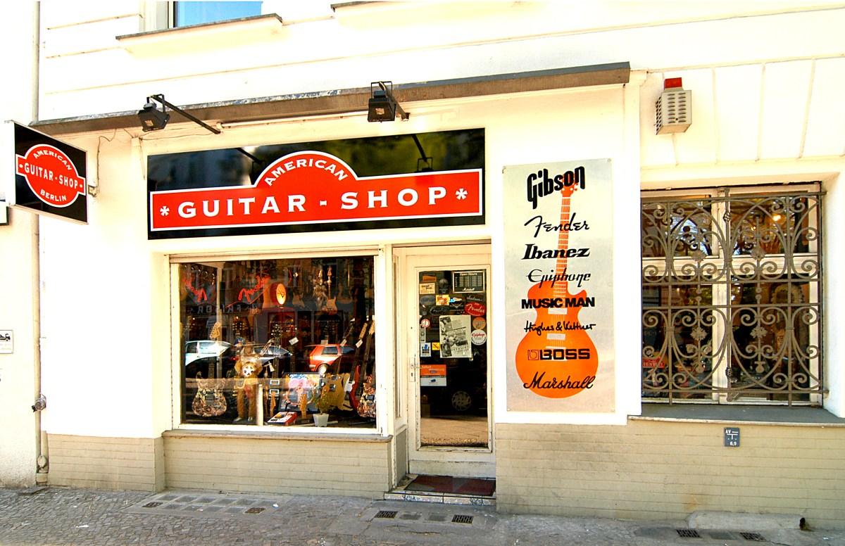 E-Gitarren in Berlin Guitars Shop