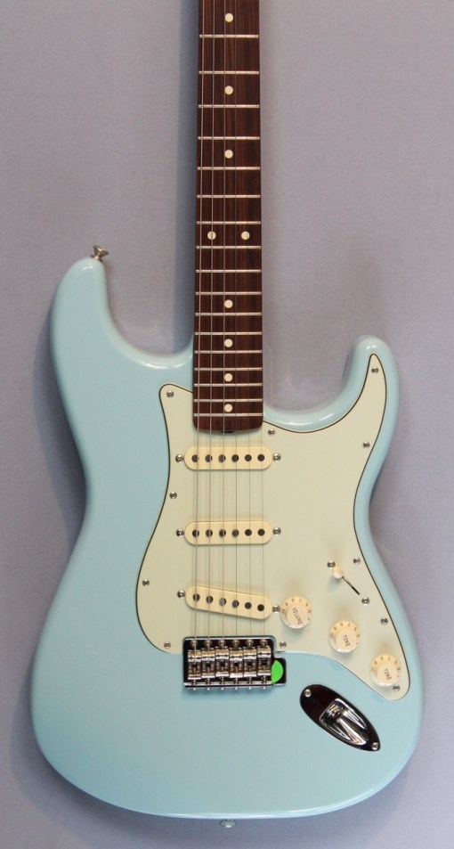 Fender Stratocaster Mexican Daphne Blue
