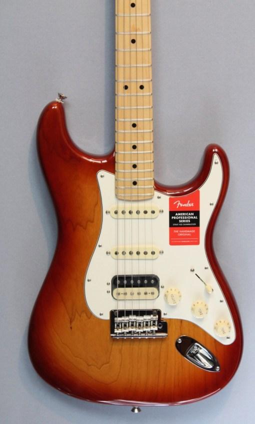 Fender American Professional Series Strat HSS MN SSB