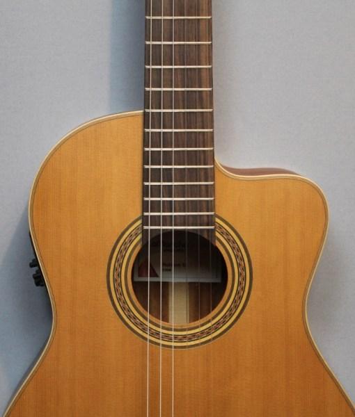 La Mancha Rubi CM/63-CWE Konzertgitarre