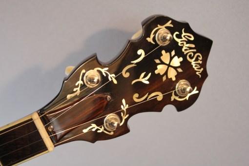 Gold Star GF-200 5 String Flathead Banjo – American Guitar Shop - Gita4