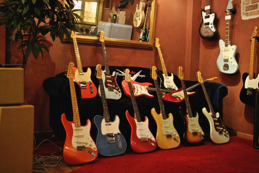 Fender Custom Shop in Berlin
