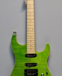 Framus Spitfire Custom Transparent Green Custom Shop