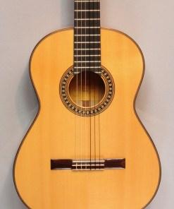Loriente Carmen Blanca Flamencogitarre