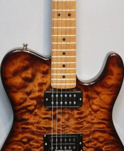 Berlin Custom Guitars Telley baked Maple
