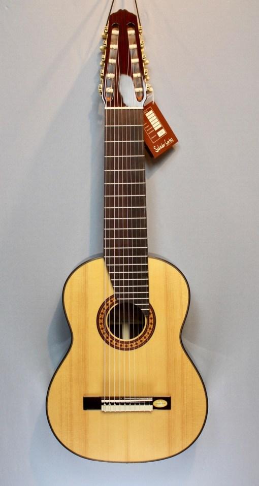 Salvador Cortez CS-60-10 10 saitige Classic Gitarre 3