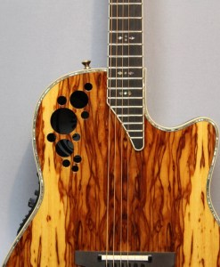 Ovation C2078AXP-OAB Elite Plus Olive Ash Burl
