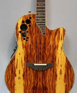 Ovation C2078AXP-OAB Elite Plus Olive Ash Burl 4
