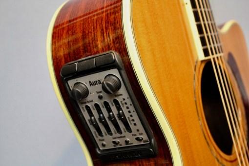 Alvarez FYM95C Aura Cutaway OM Folk Gitarre 2