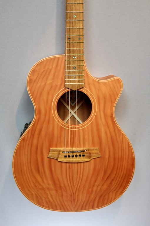 Cole Clark AN2EC-RDMAH Redwood Top with Mahogany Back and Sides 4