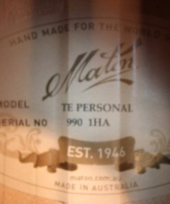 Maton TE PERSONAL Custom Shop 1