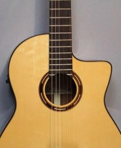 Salvador Cortes CS-250CE Konzertgitarre 5