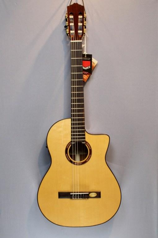 Salvador Cortes CS-250CE Konzertgitarre 3