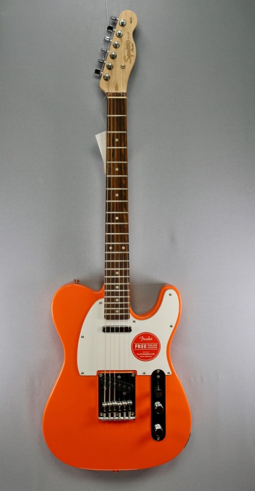 Fender Squier Affi­nity Tele Orange 5
